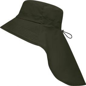 Funktionaler Hut mit extra langen Nackenschutz