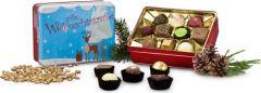 Pralinen Süße Weihnachtsgrüße als Werbeartikel