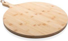Ukiyo rundes Bambus-Serviertablett als Werbeartikel