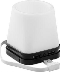Stifthalter mit Licht und USB Hub als Werbeartikel