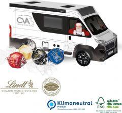 3D Präsent Camper mit Lindt Lindor Pralinés