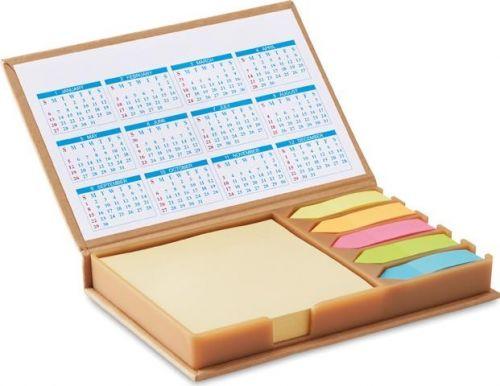 Notizblock mit Kalender bedrucken lassen