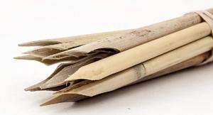Schreibgerät aus Schilfrohr