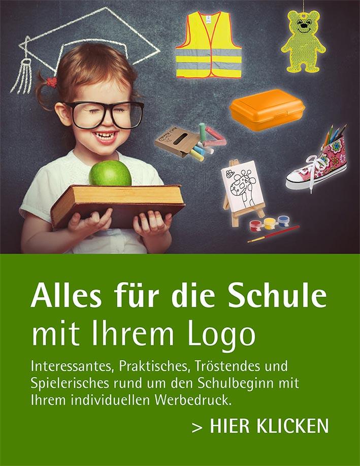 Alles für die Schule mit Ihrem Logo