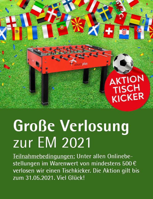EM 2021 Tischkicker Gewinnspiel